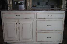 distress kitchen cabinets