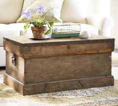 rustic trunk coffee table chest coffee