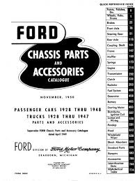 ford factory wiring diagram books and manuals 1928 1948 ford car parts book 1928 1947 ford truck parts book licensed reprint price 84 95 3 50 s h