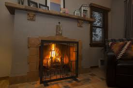 use revamp metal fireplace screens for