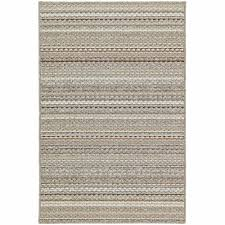 garland rug carnival stripe earthtone 5 ft x 7 ft area rug