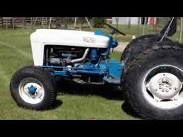 ford tractor running 1963 ford 2000 tractor running