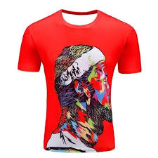 Hot selling <b>New fashion</b> Men's 3D apple/tree printing t shirt summer ...