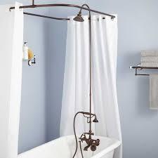 clawfoot tub shower kits 695 95