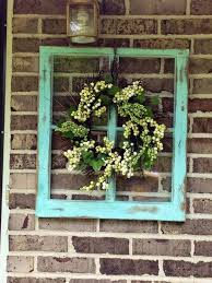old window decor window frame decor