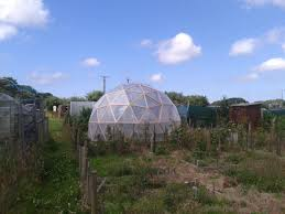 building a geodesic dome greenhouse