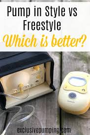 Pump Wars Medela Freestyle Vs Pump In Style Exclusive