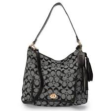 2017 new Coach Signature Grey Hobo Bag sales online, save up to 80% off
