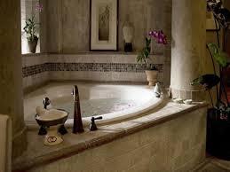 ... Bathtubs Idea, Corner Jacuzzi Tub With Shower Small Corner Bathtub  Beautiful Bathroom Decoration With Variated ...