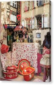 homegoods canvas print reflecting on window shopping 01 by teresa mucha on canvas wall art home goods with homegoods canvas prints fine art america