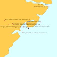 Gerrish Island Portsmouth Harbor New Hampshire Tide Chart