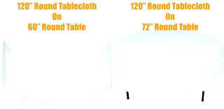 square tablecloth on round table s using
