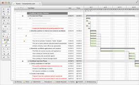 Gantt Chart Procedure Interview Process With Gantt Details A Standard Operating