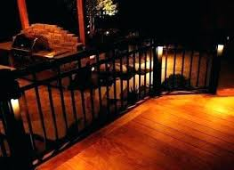 outdoor stairs lighting. Solar Stair Lights For Deck Outdoor Step Lighting Stairs