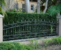 garden border fence iron garden fence