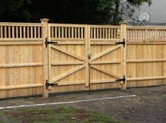Plain Wood Fence Gate Plans Comely Privacy In Ideas