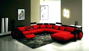 red couches living room ideas decorating decor modern house black sofa home deep couch roo