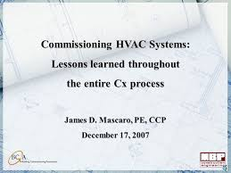commissioning hvac systems lessons learned commissioning hvac systems lessons learned throughout ppt video