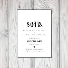 Save The Date No Photo Printable Save The Date Save The Date Template Wedding