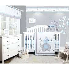 gray crib bedding sets elephant baby nursery 6 piece crib bedding set pink and gray nursery