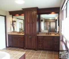 bathroom double vanity cabinets. griffin custom cabinets - his and her\u0027s split double vanity | new digs pinterest vanity, vanities bathroom