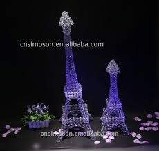 Eiffel Tower Decoration 2015 Least Design Eiffel Tower Centerpieces For Wedding Table