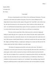 beowulf the movie and book comparison essay akeem brooks 5 pages green mile movie review