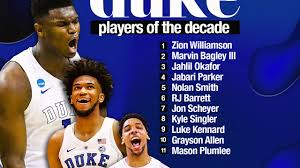 The official athletic site of the fighting irish. 11 Best Duke Basketball Players Of The 2010 2019 Decade Youtube