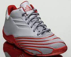 adidas basketball shoes 2016. adidas return of the mac men basketball shoes t-mac 2016 new grey red b49737