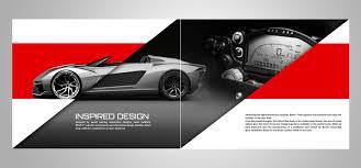 Modern Masculine Advertising Catalogue Design For Rezvani
