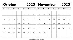 November 2020 Calendar Archives Calendars Book