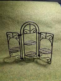 Mini Garten Metall Paravent Garten Miniaturen Etsy