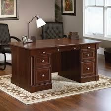 cherry custom home office desk.  Cherry Incredible Cherry Executive Desk Within Jr Home Office In Deep Finish By  Liberty  Custom