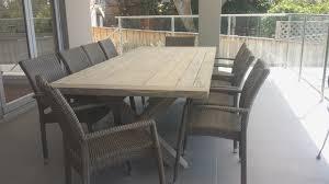 outdoor dining chairs australia amazing greywash teak picture