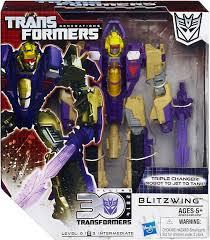 Transformers generations studio series long haul voyager action figure #42 revenge of the fallen. Transformers Generations Studio Series Blitzwing Voyager Action Figure 65 Hasbro Toys Toywiz