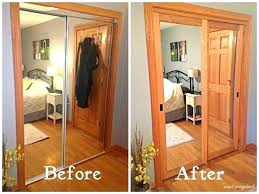 create a new look for your room with these closet door ideas mirrored doors sliding mirror ikea creative shower clo