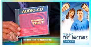 Audio Cd Hearing Test Compact Disc For Testing Of Hearing
