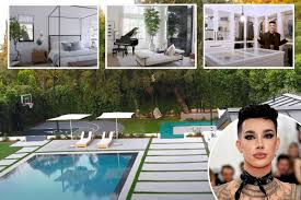 Today *drum roll* we are reacting to.james charles' house tour! Youtuber James Charles Shows Off New 7m La Mansion Equipped With A Salon Production Studio And Basketball Court