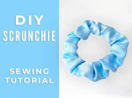 diy how to make a scrunchie 6