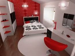 Red And White Bedroom Decorating Ideas Red Bedrooms Bedroom Ideas ...