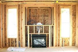 fireplace framing ideas throughout fireplace insert frame how to frame in a gas fireplace framing for as well as interesting fireplace framing ideas