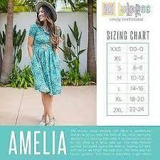 Lularoe Llr Blue Black Floral Jacquard Amelia Dress Womens
