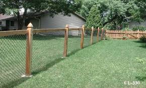 chain link fence post. Modern Chain Link Fence Post Within California Style Fences Midwest Design 8 5
