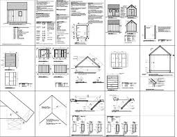 Small Picture New Free 10X12 Storage Shed Plans 23 For Your Wholesale Storage