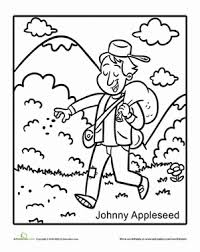 johnny appleseed fairy tales preschool all worksheets johnny appleseed worksheets printable on www education com worksheets