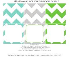 Template For Place Cards Free Free Printable Tent Cards Templates Virtulingo Com