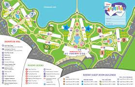 of animation resort map