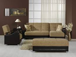 Two Tone Colors For Living Room Modern Two Tone Living Room W Multifunction Sectional Sofa Bed