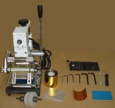 hot foil stamping machine tipper for pvc card leather