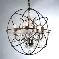 chrome orb chandelier exclusive font lighting glass crystal plans